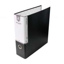 [도리미]D링 합지바인더3공 A4 - 3inch(10cm)흑색