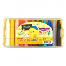[동아]노랑병아리크레용 12색
