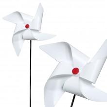 왕바람개비-흰색