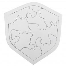 종이퍼즐 방패
