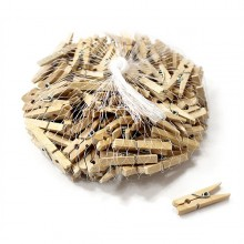 나무집게 4.5cm[100-105개]