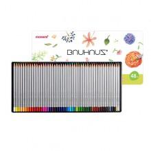 모나미 바우하우스48색 나무색연필