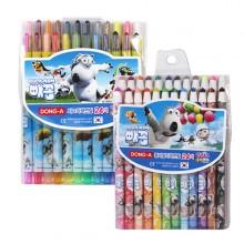 동아 24색 빼꼼 색연필