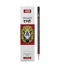 더존 4B 연필 1자루