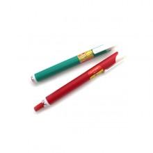 포켓컬러 채점용색연필 빨강 2자루
