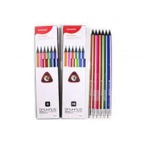 [모나미] 바우하우스(삼각지우개)연필 12자루