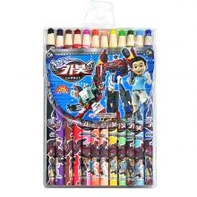 12색종이말이색연필 카봇