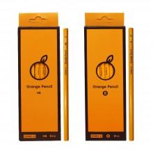 동아 오렌지 연필 8개입