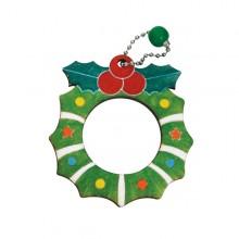 유니아트 1200 가방고리 만들기 크리스마스 리스