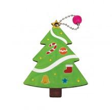 유니아트 1200 가방고리 만들기 크리스마스 트리
