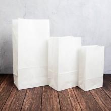 디자인랩 화이트 종이봉투(8입)