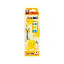 동아 노랑병아리 은나노 5자루 2B  연필