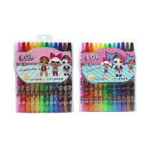 5000 LOL 12색 샤프식 색연필