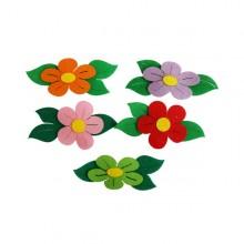 2500 유니아트 펠트 둥근꽃