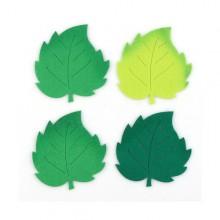 2500 유니아트 펠트 신형 투톤 나무잎 대