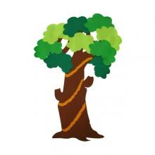 18000 유니아트 펠트 큰나무