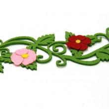 7000 유니아트 펠트 둥근꽃 울타리
