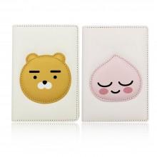 카카오 프렌즈 PU 여권케이스 커버 지갑