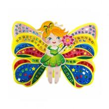 컬러룬 홀로그램 모자이크 나비요정 만들기