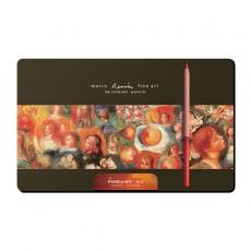 마르코 르누아르 유성색연필 36색 틴케이스