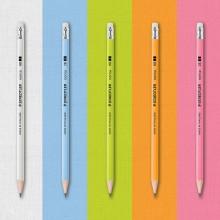 스테들러 노리카 파스텔 연필 2B HB 12개입 1타스