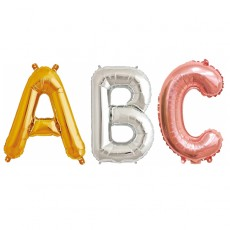 컬러룬 알파벳 은박 풍선 소 파티 기념일 생일