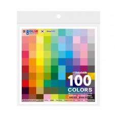 종이나라 뜯어쓰는 단면색종이 100매 100색