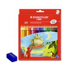 스테들러 루나 색연필 24색 세트